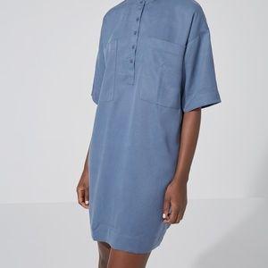 Frank + Oak The Patch Tencel Shirtdress